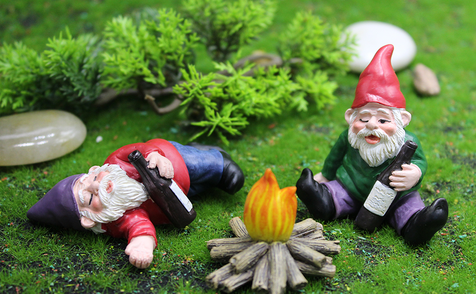 garden gnomes decorations