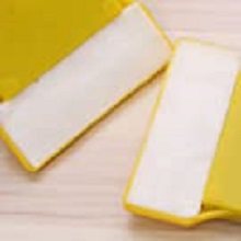 Cotton squeegee