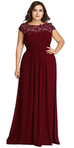 plus size evening gowns wedding guest dresses for women mother of the bride dress