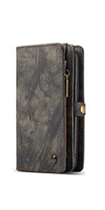 iPhone7Plus/8Plusケース 手帳型 高級レザー iPhone8Plus保護カバー 耐汚れ 耐衝撃 スマホケース カード収納 マグネット