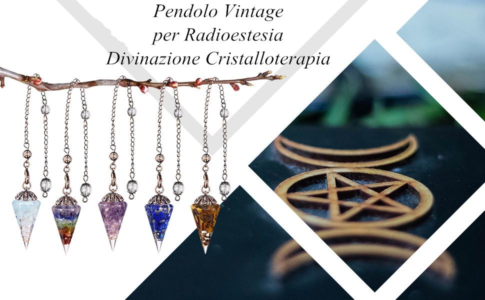 pendolo in pietra e rame