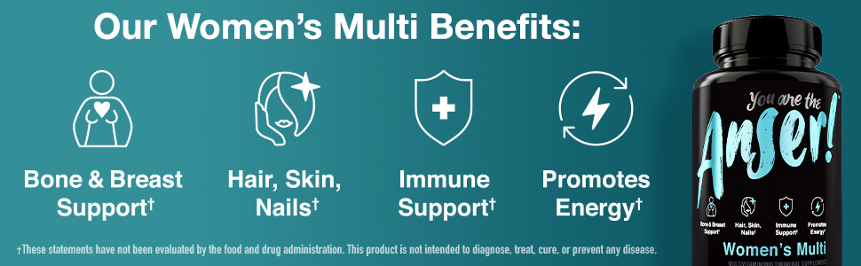 Anser Women's Multivitamin Benefits