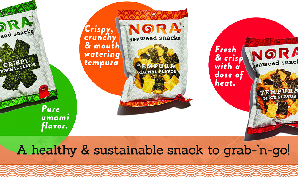 sustainable original umami flavor tempura spicy