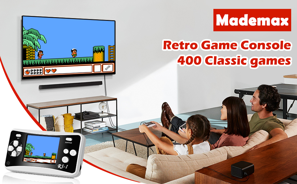 Why Choose Mademax Newest Retro Handheld Game Console?