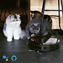 Friega y Pasa la Mopa Pelo de Mascotas Navegaci/ón L/áser Aspira Fregasuelos 4 en 1 Barre App Control Zigma Robot Aspirador para Suelos Duros y Alfombras Alexa y Google Assistant