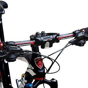 UPANBIKE Manillar plegable de aleación de aluminio para bicicleta ...