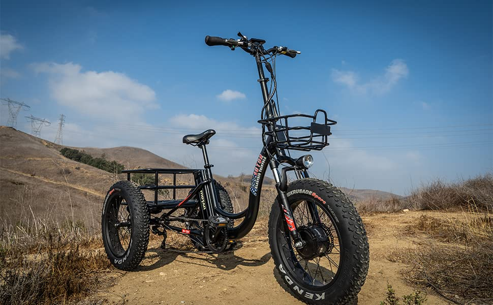 electric trike for adults with seat