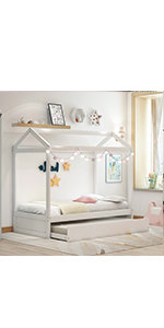 House Daybed with Trundle