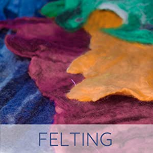 felting fiber wool bfl bluefaced leicester hand dyed pencil roving pacific northwest made in usa