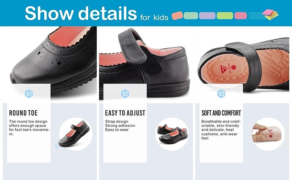 Girls Lightweight Shoes