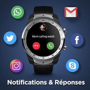 montre connectée ticwatch pro