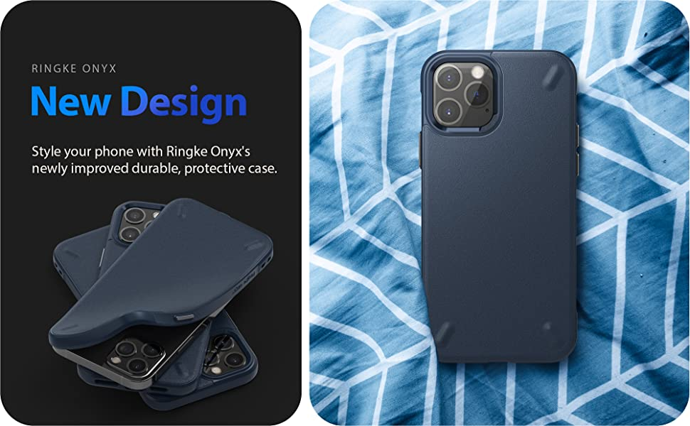 """Ringke Onyx Case Designed for iPhone 12 Pro Max Case Shockproof Protective Case 6.7"""""""