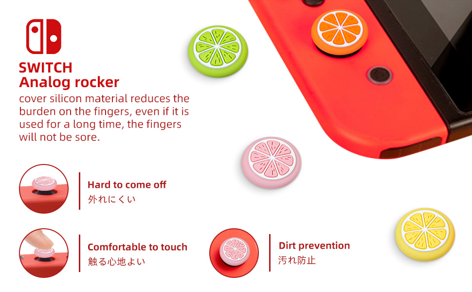 Thumb Grip Caps for Switch