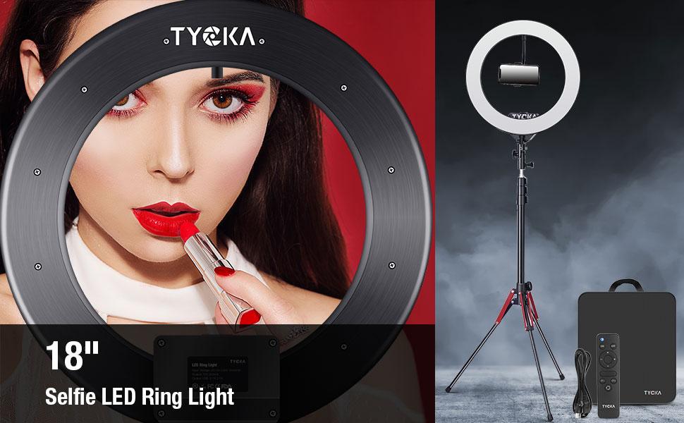 18 LED RING LIGHT