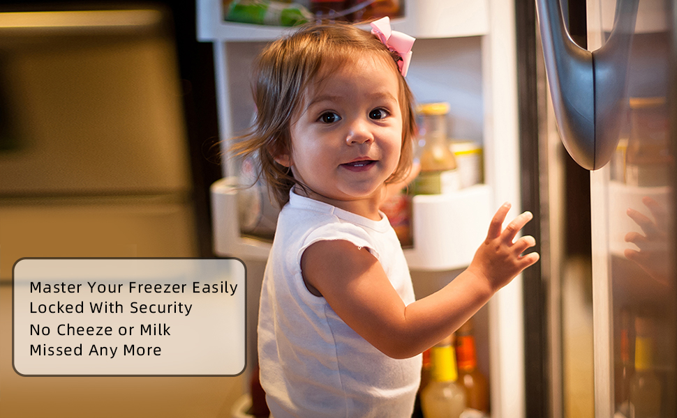 fridge_freezer_refrigerator_door_lock_latch_baby_toddler_proof_combination_saftey_kids_replacement
