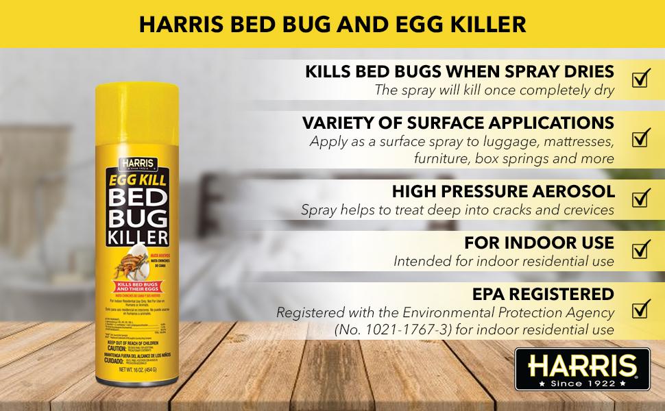 Harris Bed Bug Aerosol Killer Spray