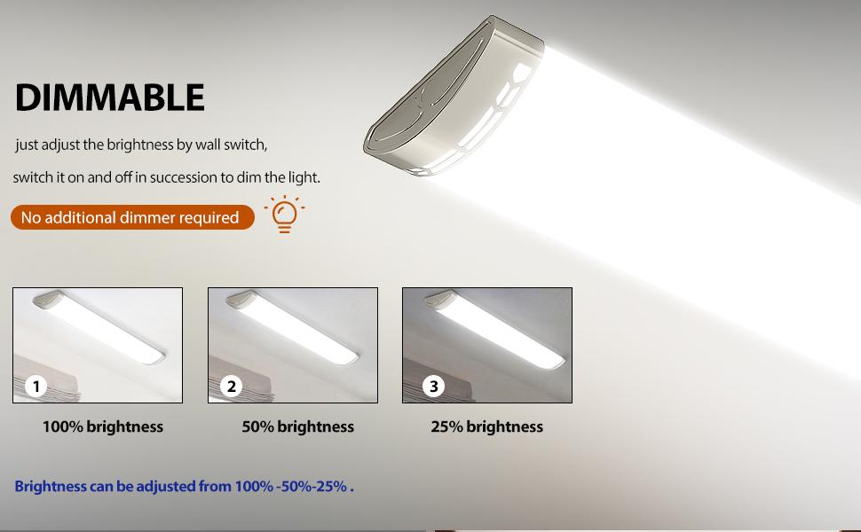 4ft led office light