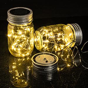 waterproof jar lights