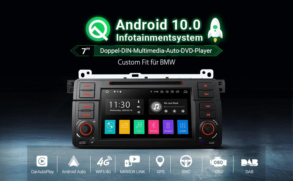 Xtrons 7 Inch Android 10 0 Car Radio Quad Core 2gb Ram Elektronik