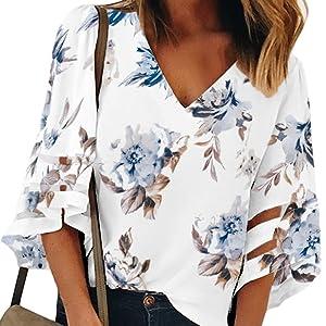 women v neck blouse