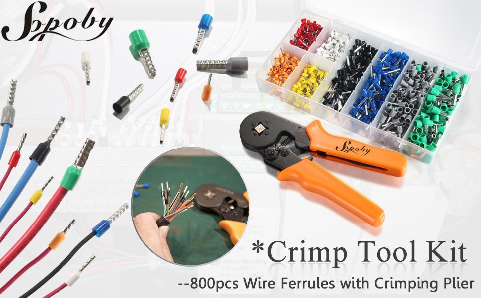 ferrule crimping tool kit
