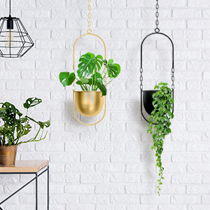 wall plant holder galvanized wall planter black hangers modern wall decor peace lily
