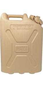 Tan Military Water Can Cap