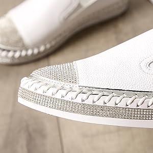 women slip on sneakers