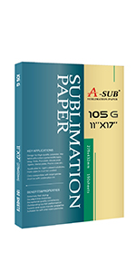 ASUB sublimation paper 11x17