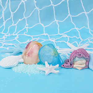 gem rock soap