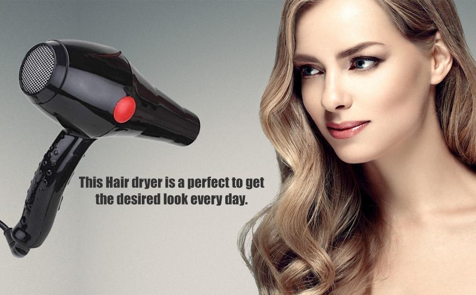 JM Professional Multi Purpose Elite Hair Dryer 2800 (Black, 2000 Watts, Hot and Cold) SPN-REE
