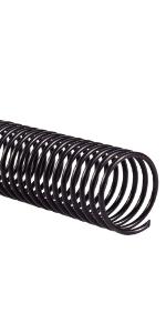 Plastic spiraalbindende spoelen