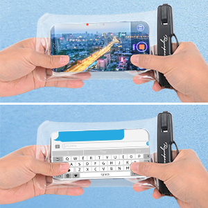 touch sensitively waterproof phone pouch