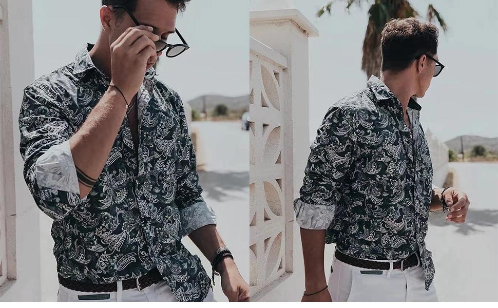 dress shirt for men long sleeve