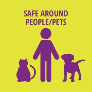 Safe Around People/Pets
