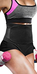 Perfotek Waist Trimmer Belt, Sweat Wrap