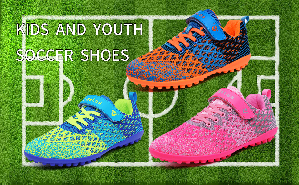 KIDS AND YOUTH SOCCER SHOES