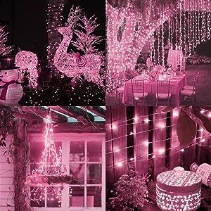 120 LED Solar Fairy Lights