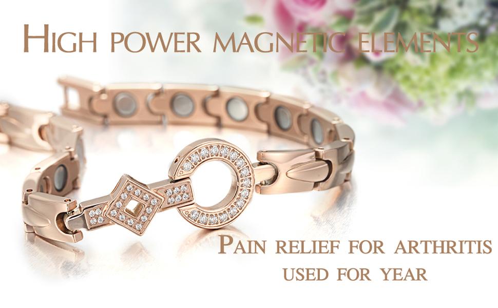 magnetic bracelet pain relief for women