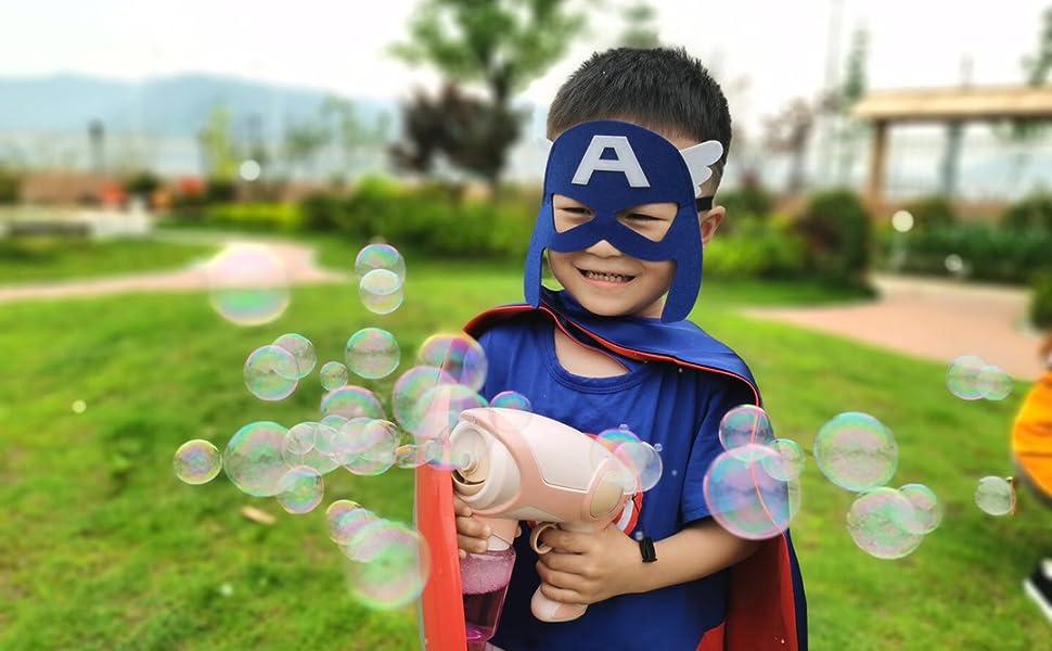 Kids toy bubble gun