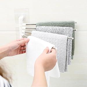 towel rack for bathroom