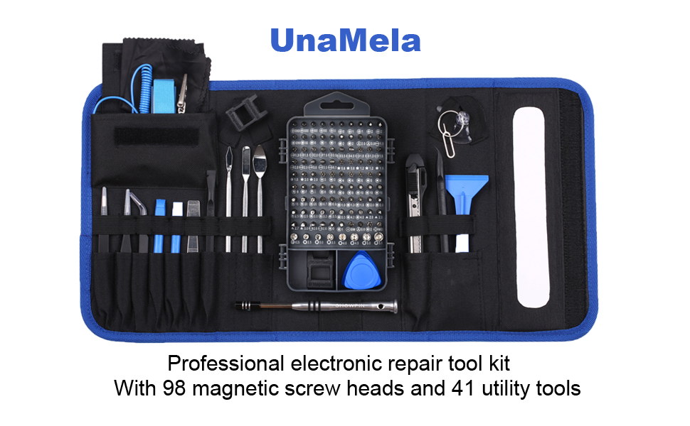 LB1 High Performance Professional 54 Piece Tool Screwdriver Bit Set Repair Kit Hand Tool Kit for Msi G Series Gt780dx-406us 173-inch Laptop from MSI COMPUTER