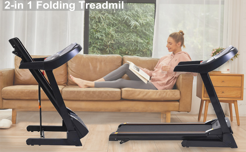 treadmill exercise machine for home