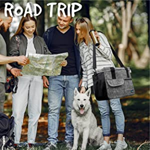 Pet luggage tote bag for hiking outdoors road trips camping