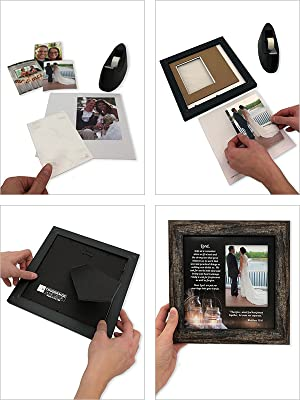 Tape your own 4x6 photo into a personally yours once frame is received.