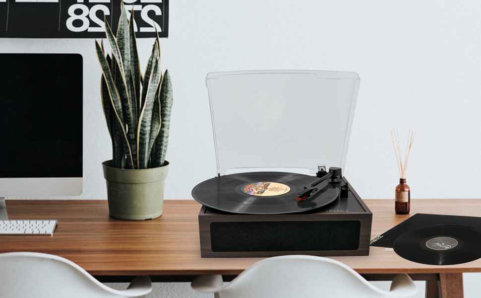 turn tables for vinyl records