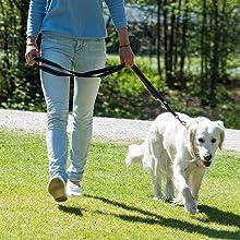Happilax correa perro multiposición, ajustable en 3 longitudes o ...