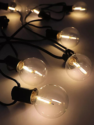 backyard patio string lights outdoor outside bistro yard deck decorative lights outdoor fall decor