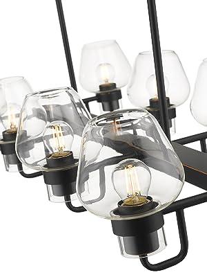 8-Light Pendant Chandelier