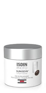 antioxidant powered supplement increase skin radiance isdin sunisdin daily photoaging capsules